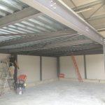 Réalisation d'un plancher intérieur par LGC Métal