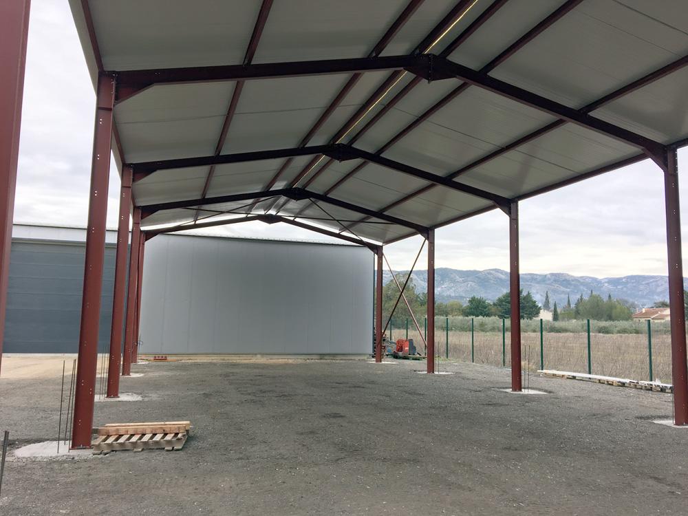 Hangar agricole par LGC Métal