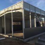 Extension bâtiment par LGC Métal